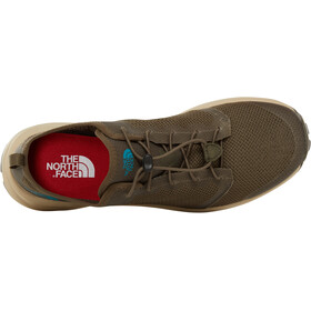 The North Face Litewave Flow Lace II Shoes Men new taupe green/four leaf clover